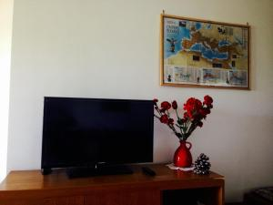A television and/or entertainment center at Charles's House