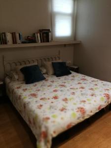 A bed or beds in a room at Casa con vistas
