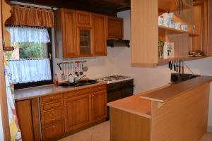 A kitchen or kitchenette at Apartment Silva