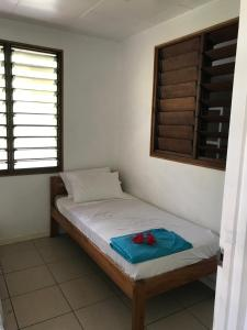 A bed or beds in a room at Marine Cup