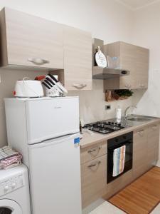 Η κουζίνα ή μικρή κουζίνα στο Apartment Via Acquati