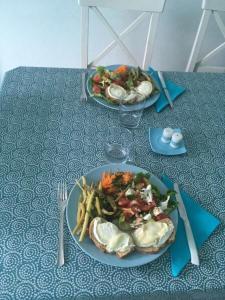 Nourriture dans l'appartement ou à proximité
