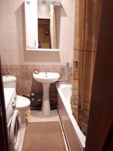 Ванная комната в Апартаменты на Южно-Моравской