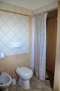 A bathroom at Alba Chiara