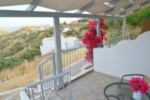 Un balcón o terraza de Garyfallos