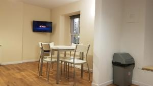 A television and/or entertainment center at Kavanaghs Bar & Venue Townhouse