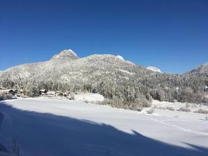 Haus Bergfrieden during the winter