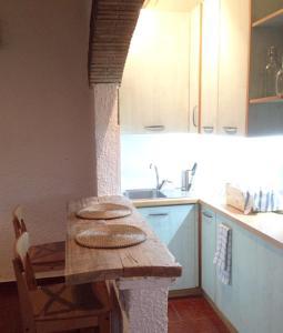 A kitchen or kitchenette at Fazenda da Ido