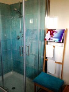 A bathroom at Fazenda da Ido
