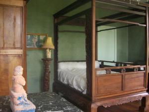 Un ou plusieurs lits dans un hébergement de l'établissement Château Fontclaire