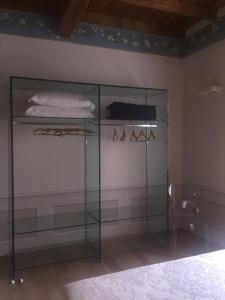 A television and/or entertainment center at Palazzo Carasi Apartments