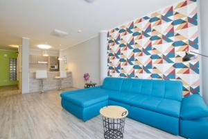 A seating area at United Colors of Budapest Apartments