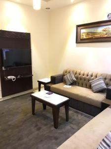 A seating area at Wahet Masknuna Residential Units
