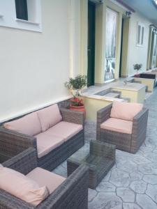 A seating area at Melina Apartment