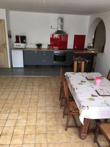 Cuisine ou kitchenette dans l'établissement Naciento
