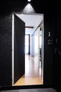 A bathroom at Baps Apartments