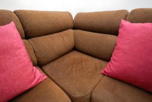 A seating area at Apartamento La Mata