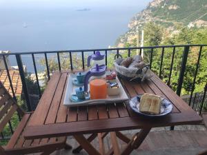 A balcony or terrace at Casa Vacanze Il Libeccio