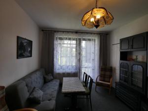 Posezení v ubytování Apartmán Chlupáč