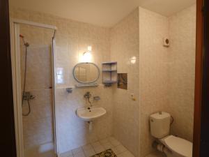Koupelna v ubytování Apartmán Chlupáč