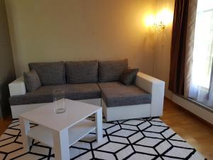 A seating area at Imatra Star Saimaa Villas