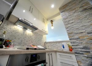 Кухня або міні-кухня у Srecko Exclusive Apartment