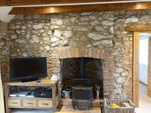 A television and/or entertainment center at The Crofter's Cottage, Eyemouth