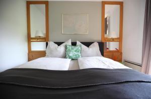 Austria Apart房間的床