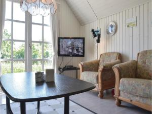 A seating area at Holiday home Helmklit Ulfborg I