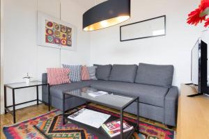 A seating area at Apartment Visit Vienna