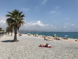 Ein Strand an oder in der Nähe des Aparthotels