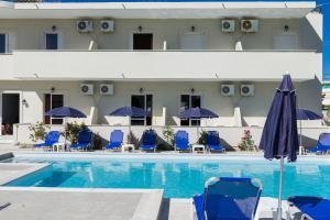 The swimming pool at or near Laganas Dreams 2