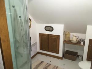 Salle de bains dans l'établissement Chez Hélène&Raph Chamnay