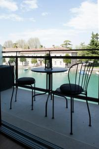 A balcony or terrace at Voltoni Luxury Home