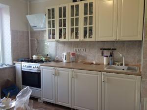 Кухня или мини-кухня в Apartments on Sevasopolskaya
