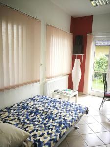 Cama o camas de una habitación en Apartma Peter1a