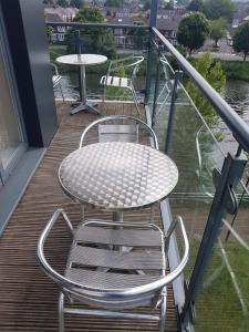 A balcony or terrace at Waterside Apartments
