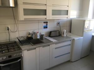 A kitchen or kitchenette at Murano Apartaments City Center
