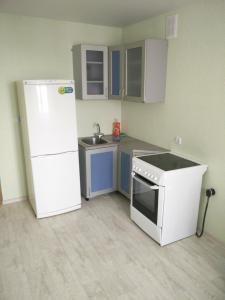 Кухня или мини-кухня в Апартаменты Amur University Apartments