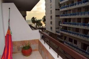 Un balcón o terraza de Santa Marta Apartamentos - Palanoa