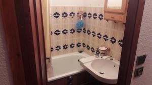 Salle de bains dans l'établissement Les Fenestrelles.