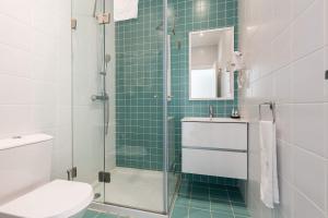 Een badkamer bij Dream Chiado Apartments