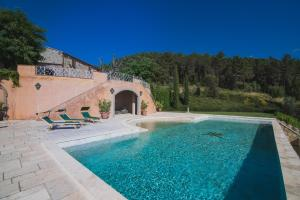 The swimming pool at or near Villa Cava Alta
