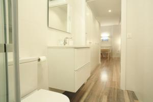 Een badkamer bij Zuhaizti Apartment