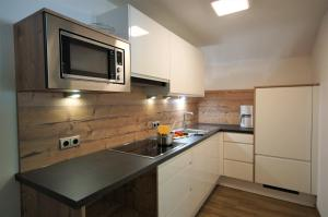 Küche/Küchenzeile in der Unterkunft Appartementhaus Nadine