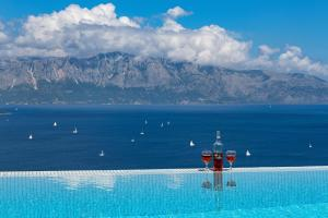 Πισίνα στο ή κοντά στο Ionian Heaven Villas