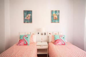 A bed or beds in a room at Apartment Munilla El Palo