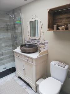 Salle de bains dans l'établissement La petite douane