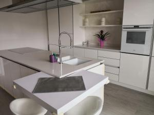 A kitchen or kitchenette at Residence Charme Ispra
