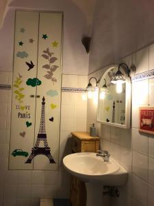 Vannas istaba naktsmītnē Appartamento Assisi, Via Portica